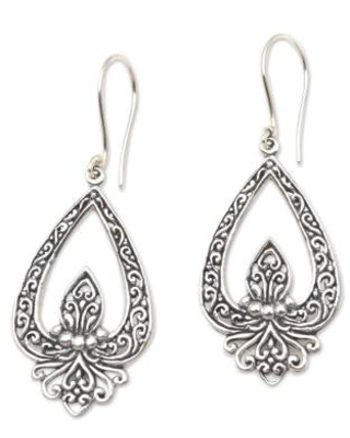 Hand Crafted Sterling Silver Dangle Earrings
