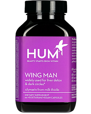 HUM Nutrition Wing Man Liver Detox and Dark Circle Supplement in Beauty: NA.