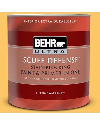 Discover Deals On Behr Ultra 1 Qt Home Decorators Collection Hdc Sp16 05 Daffodil Extra Durable Flat Interior Paint And Primer Yellow
