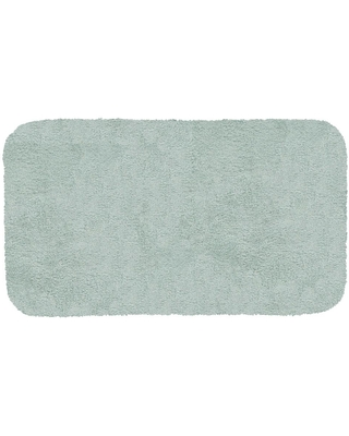 New Deal For Mohawk Home New Regency Sea Mist 17 In X 24 In Nylon Machine Washable Bath Mat
