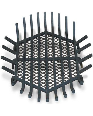 """Master Flame Round Fire Pit Grate ROUND-FPGRATE-CG Size: 8"""" H x 24"""" W x 24"""" D"""