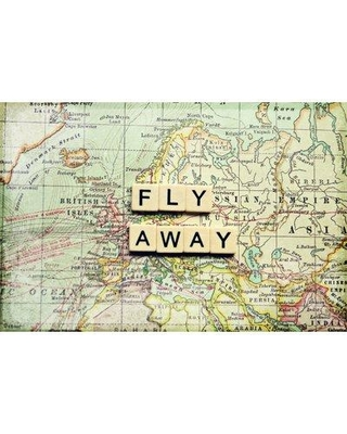 """Marmont Hill 'Fly Away' Graphic Art Print on Wrapped Canvas SC-16-C Size: 40"""" H x 60"""" W"""