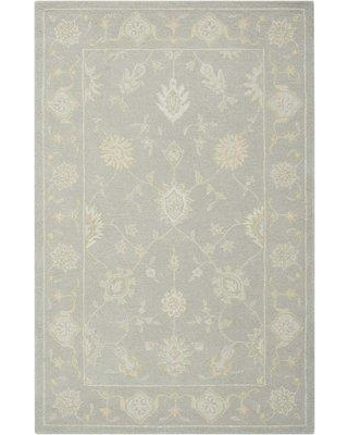 "Darby Home Co Ridgeville Hand-Tufted Light Taupe Area Rug DRBC7103 Rug Size: Rectangle 3'9"" x 5'9"""
