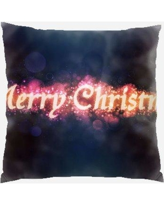 The Holiday Aisle Zayne Christmas Indoor/Outdoor Canvas Throw Pillow W000257204