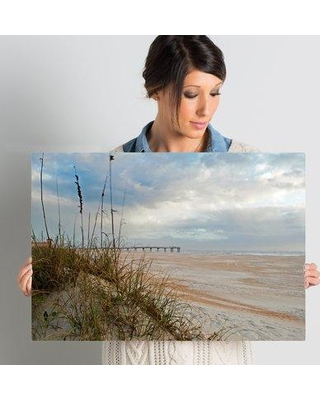 """Rosecliff Heights 'Chuck Burdick Sand Dunes I' Photographic Print on Wrapped Canvas ROHE5062 Size: 16"""" H x 24"""" W x 2"""" D"""