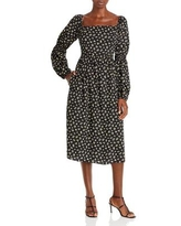 We Can Be Free Midi Dress - Black - LOST AND WANDER Dresses