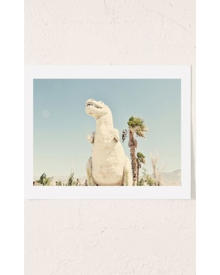Urban Dreams Photography Palm Springs Dino Art Print - Assorted 30X40 at Urban Outfitters