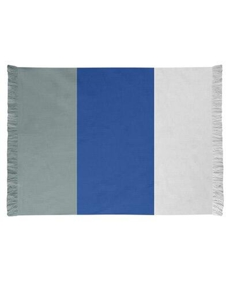 East Urban Home Dallas Football Blue/Gray Area Rug FCJK0421 Backing: Yes