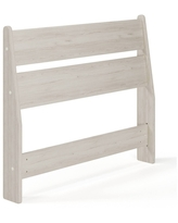 Twin Socalle Panel Headboard Natural - Signature Design by Ashley