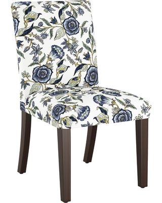 Swell Threshold Parsons Dining Chair Blue Shaded Floral Threshold From Target Real Simple Uwap Interior Chair Design Uwaporg