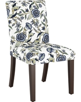 Parsons Dining Chair Blue Shaded Floral - Threshold
