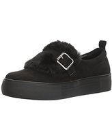 Not Rated Women's Beverly Fashion Sneaker, Black, 7.5 M US