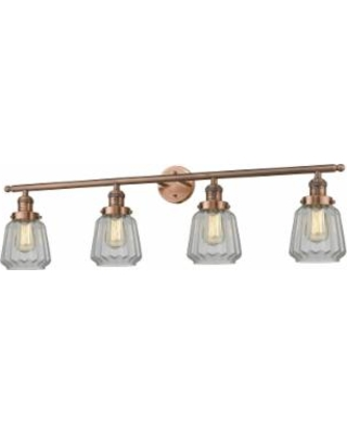 Innovations Lighting Bruno Marashlian Chatham 42 Inch 4 Light Bath Vanity Light - 215-AC-S-G142
