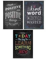 "Creative Teaching Press 19 x 13"" Be Your Best Poster Pack Chalk It Up! (CTP7485),Size: med"