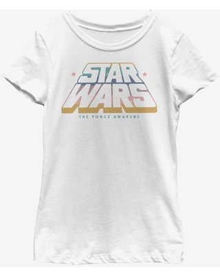 Star Wars Episode VII The Force Awakens Gradient Youth Girls T-Shirt