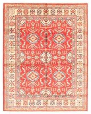 ECARPETGALLERY Hand-knotted Finest Gazni Red Wool Rug - 7'11 x 10'1 (Red - 7'11 x 10'1)