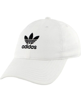 adidas Originals Women's Relaxed Strapback Hat, White