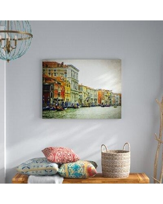 Bloomsbury Market Railey 'Venezia' Photographic Print on Canvas BLMS6816
