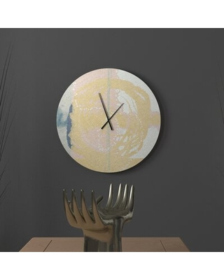 Spectacular Savings On Beautiful Mettlesome Abstract Metal Wall Clock Ebern Designs Size Large