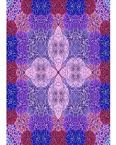 Check Out Deals On Sanchez Floral Wool Purple Area Rug East Urban Home Rug Size Square 8