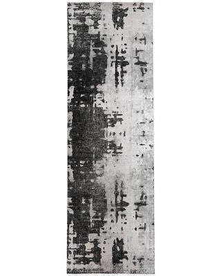 17 Stories Cantera Gray Area Rug X114261915 Rug Size: Runner 3' x 8'