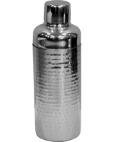 Hammered Cocktail Shaker Stainless Steel - Threshold