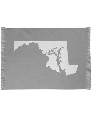 East Urban Home Home Sweet Annapolis Chenille Rug EBJH5858