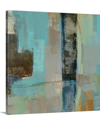 """Canvas On Demand 'Skylights Square I' by Silvia Vassileva Painting Print on Canvas 2219576_24 Size: 16"""" H x 16"""" W x 1.25"""" D"""