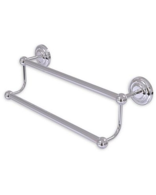 Allied Brass Prestige Que New 36-Inch Double Towel Bar in Polished Chrome