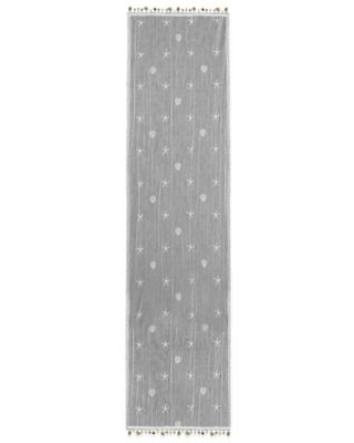 Heritage Lace® Sand Shell 15-Inch x 60-Inch Table Runner in White