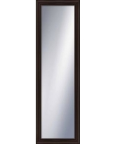 Darby Home Co Timeless Rectangle Wall Mirror DABY9075 Finish: Espresso