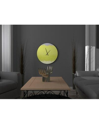 East Urban Home Edith Wall Clock W001682085 Size: Small