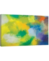 """JaxsonRea 'Gala Print' by Kent Youngstrom Painting Print on Wrapped Canvas SC2328 Size: 32"""" H x 48"""" W x 1.5"""" D"""