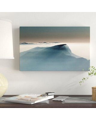 "East Urban Home 'Voile Alpin' Photographic Print on Wrapped Canvas W000256737 Size: 30"" H x 47"" W x 2"" D"