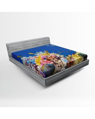 Ocean Fitted Sheet East Urban Home Size: Full