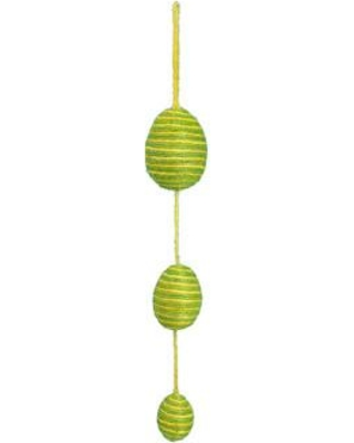 The Holiday Aisle Egg Garland HLDY6860 Color: Yellow