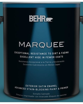 BEHR MARQUEE 1 gal. #530D-7 Grand Rapids Satin Enamel Exterior Paint and Primer in One