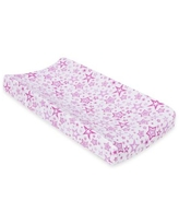 MiracleWare Radian Orchid Stars Muslin Changing Pad Cover