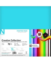 Neenah Paper Cardstock Assorted Colors-36 Ct-12X12, Multi-Colored
