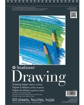 Strathmore 9x12 Spiral Drawing Paper Pad - 60ct