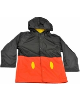 Western Chief Boys' Mickey Mouse Rain Coat (Size 3T) Red, Synthetic