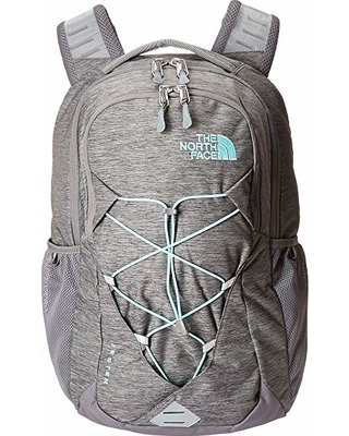 85bb1e303 The North Face The North Face Jester Backpack (Zinc Grey Light Heather/Mint  Blue) Backpack Bags from Zappos | parenting.com Shop