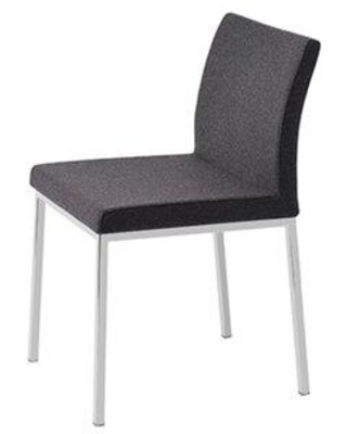 Here S A Great Deal On Orren Ellis Heffington Upholstered Side Chair Upholstery Faux Leather Upholstered In Dark Gray Size 31 H X 16 W X 20 D Wayfair