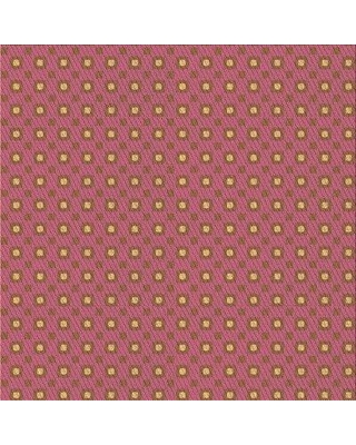 East Urban Home Marquetta Geometric Wool Pink Area Rug W002342601 Rug Size: Square 3'