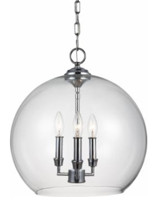 Generation Lighting Feiss Lawler 16 Inch Large Pendant - F3155/3CH