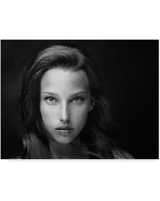 """Trademark Fine Art 'Tanya Portrait' Photographic Print on Wrapped Canvas 1X05856-CGG Size: 18"""" H x 24"""" W x 2"""" D"""