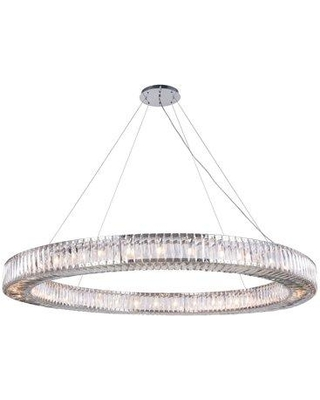 Everly Quinn Isidora 36-Light Crystal Chandelier EYQN7194