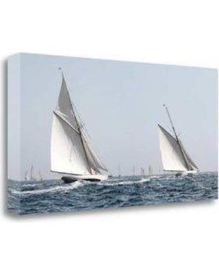 """Tangletown Fine Art 'Sailing South' Photographic Print on Wrapped Canvas CALJP304-2915c Size: 17"""" H x 34"""" W"""