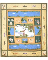 Patch Magic Fly Fishing Quilt QFFSH Size: Full / Queen