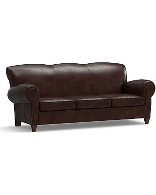 Find the Best Deals on Manhattan Leather Sleeper Sofa with ...
